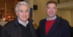Maurice Hinchey and Chris GibsonKingston Times photo by Dan Barton